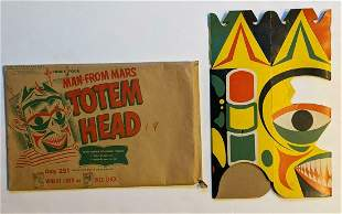 Vintage CHEX CEREAL PROMOTIONAL - MAN FROM MARS, TOTEM