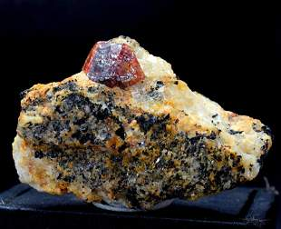 Zircon Crystal , Terminated Natural Zircon Specimen
