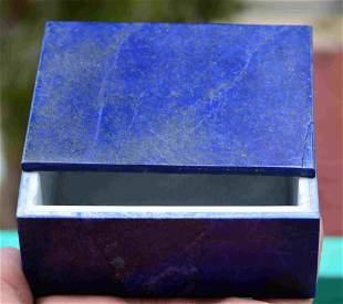 450 Grams Beautiful Royal Blue Lapis Lazuli Box