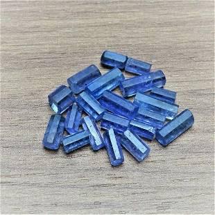 Mineral -TANZANITE STICKS - 20 pcs, crystals, Tanzania