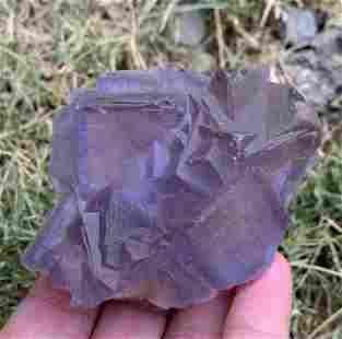 208 Gram Amazing Natural Fluorite Specimen