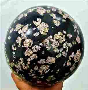 Polished Ketonite Sphere Handmade - 10 KG