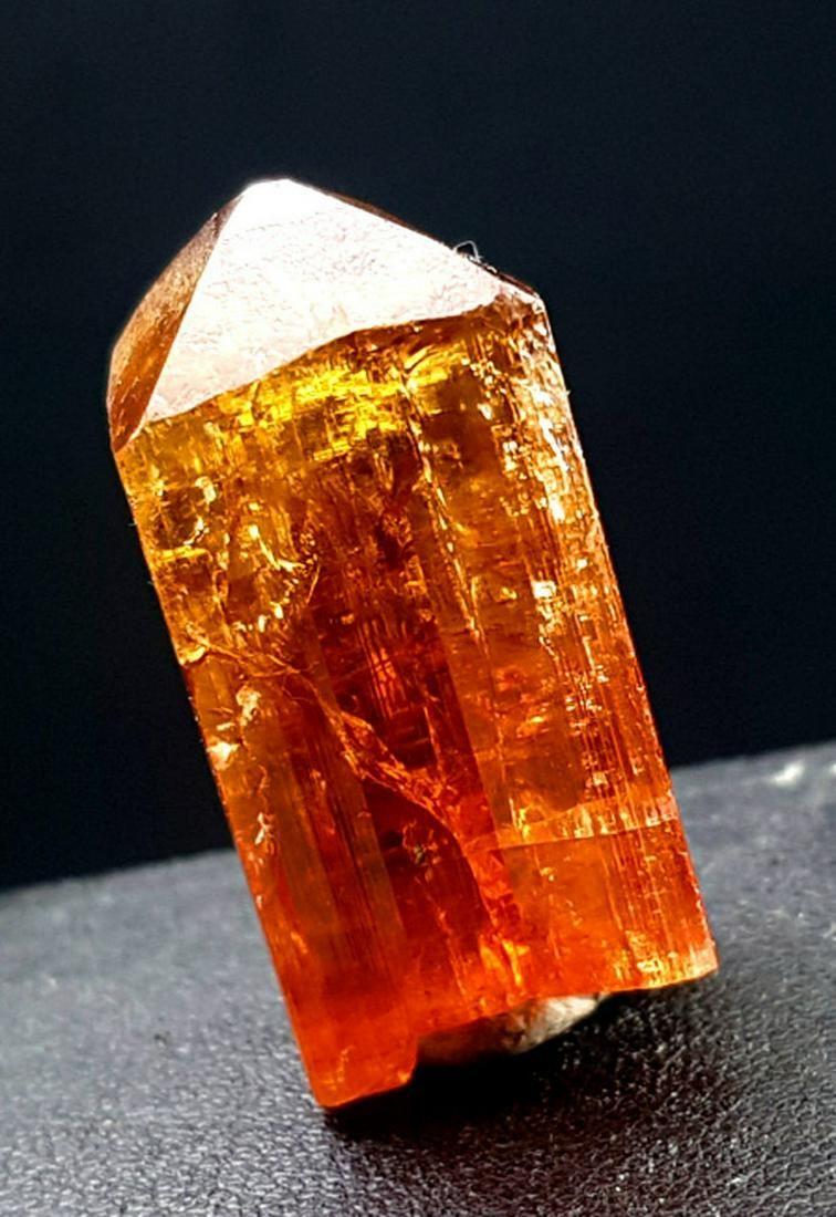 Topaz Crystal , Terminated & Undamaged Katlang Topaz