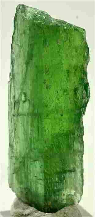 32 Grams Lush Green Terminated Kunzite Crystal