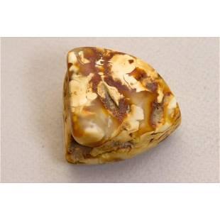 25g Baltic amber stone raw (rough), landscape amber