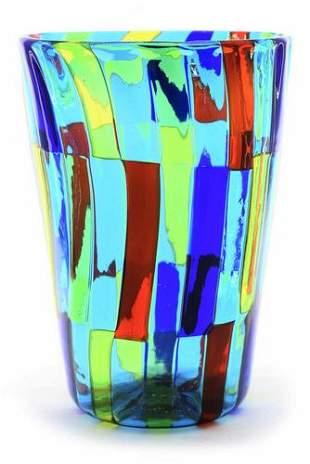 Angelo Ballarin - Murano glass Goblet signed