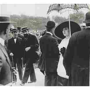 JACQUES HENRI LARTIGUE - At the Races, 1910