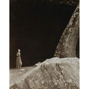 CLARENCE H. WHITE - The Cave, 1901