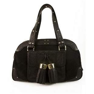 Luella Bernie bowling bag Black Bowler Style Satchel