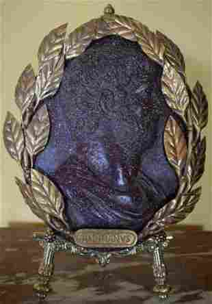 Portrait in porphyry, and gilded bronze, Emperor