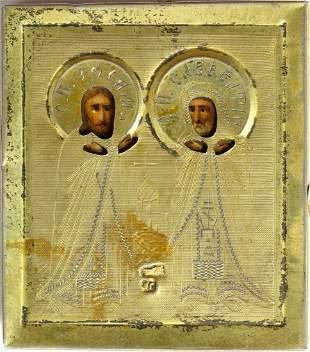 Saints Zosima and Savatii , founders of the Solovetski