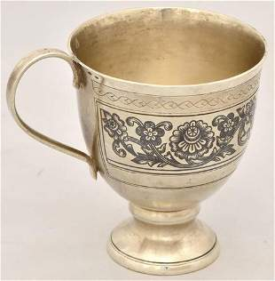 Cup, Sterling silver