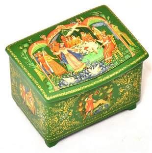 Lacquer Box, Palekh