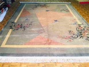 Vintage Chinese abstract deisgn Rug