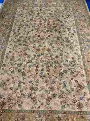 Tabriz Design rug 8x10 ft