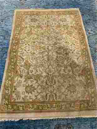 Hand Knotted Indo Tabriz 6x4 ft