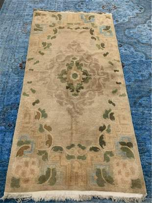 Hand Knotted Chinise 6x3 ft