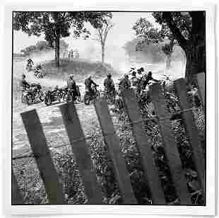Danny Lyon: Scrambles Track, McHenry, IL 1965