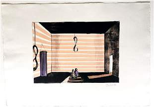Thomas Huber Color Lithograph Stage 1992
