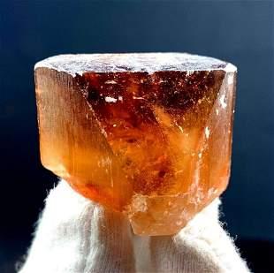 Natural Topaz Crystal , Imperial Topaz , Sherry Topaz