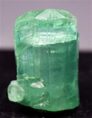 Natural Tourmaline Crystal Paraiba Color Terminated and