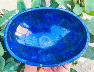 400 Grams Royal Blue Lapis Lazuli Bowl