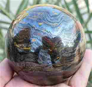 1350 Grams Beautiful Multi Color Tiger Eye Sphere