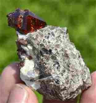 53 Grams Beautiful Red Garnet Specimen