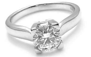 Harry Winston Platinum .71ct VVS2/F Diamond Solitaire