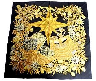 Hermes Carre Passieflores Passion Flower Vintage 90cm