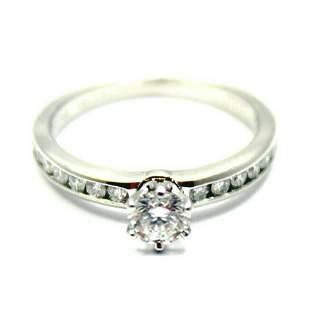 Tiffany & Co. Platinum 0.51ctw Diamond E/VS1 Engagement
