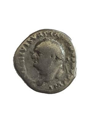 Roman Empire. Vespasian, denarius. 77/78 C.E.