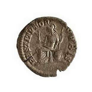 Roman Empire, Septimius Severus. Denarius, 202-210 C.E.