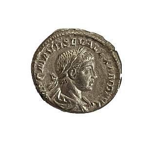 Roman Empire, Severus Alexander, Denarius, 223 C.E.