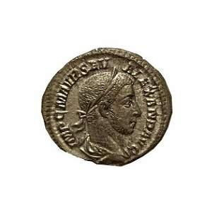 Roman Empire, Severus Alexander, Denarius, 226 C.E