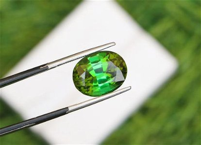 Natural & Unheated~ Green Tourmaline Gemstone