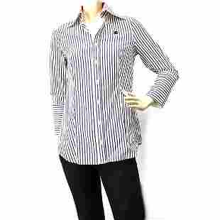 Authentic DSquared Stripped Womans Long Sleeve Fitted
