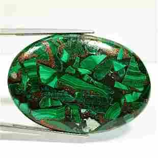 59.88 ct Natural Copper Malachite