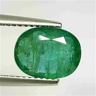 "2.64 Ct "" IGI Certified "" Natural Emerald"