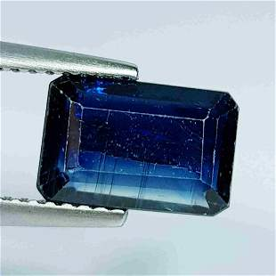 3.20 ct Natural Kyanite Emerald Cut