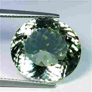 Natural Green Amethyst Round Cut 16.40 ct