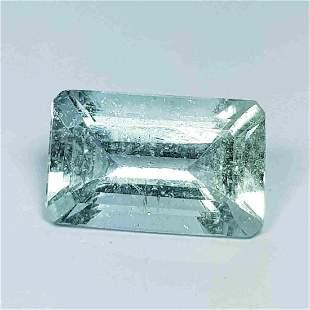 Natural Aquamarine Emerald Cut 2.58 ct