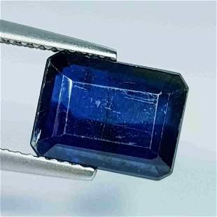 4.95 ct Natural Kyanite Emerald Cut