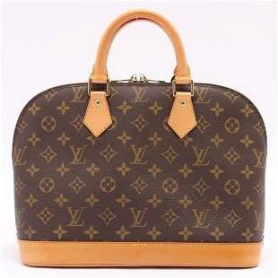 Louis Vuitton Vintage Monogram Alma Handbag Satchel