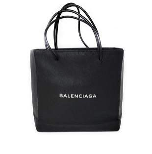Balenciaga Black North South Shoulder Bag