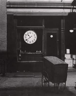 BERENICE ABBOTT - Repair Shop, Christopher Street,