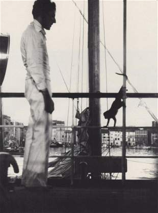 CECIL BEATON - Jean Cocteau, Tolone, 1945