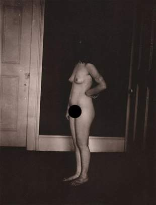 E. J. BELLOCQ - Nude, Storyville Prostitute ca 1912