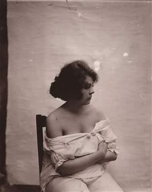 E. J. BELLOCQ - Storyville Prostitute ca 1912