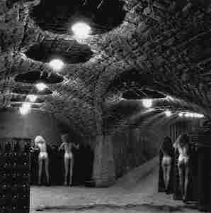 HELMUT NEWTON - Nudes in the cellars of Ca' del Bosco,